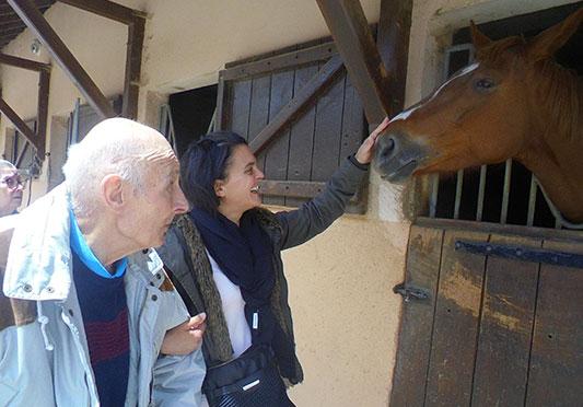 Sortie au centre equestre !